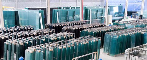 Galpão de Produção extremamente organizado.