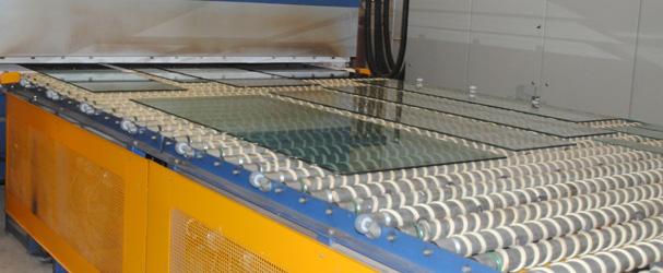 O que há de mais avançado em produção de vidro temperado.